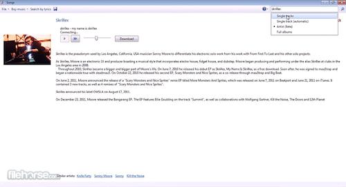 descargar Songr para Windows 10